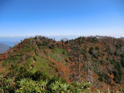 六・弥勒から五地蔵山