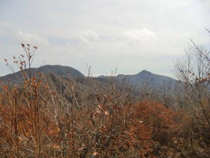 地蔵岳・荒山