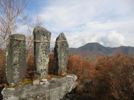 鈴ヶ岳山頂から