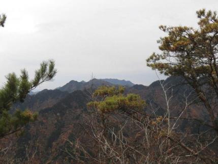 三笠山から両神山