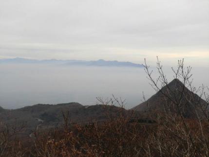 水沢山と赤城から袈裟丸山