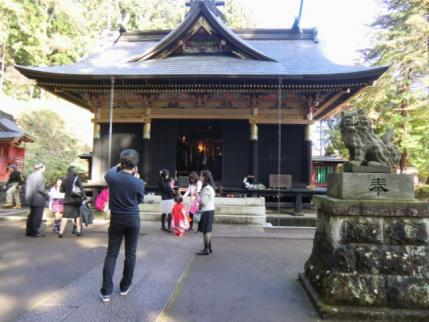 妙義神社で
