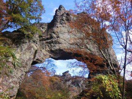 第四関門から大砲岩