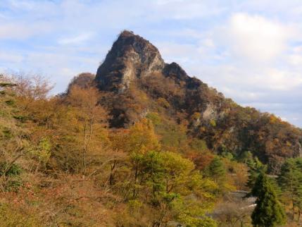 一本杉から筆頭岩