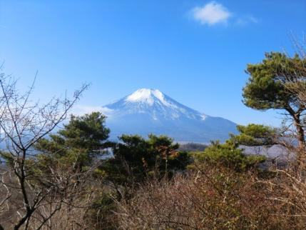 もひとつ富士山に向かって
