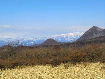 火起山から鈴ヶ岳、上州武尊山方面