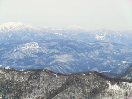 上州武尊、笠ヶ岳、至仏山