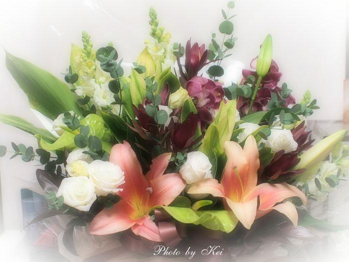 お供え花♪