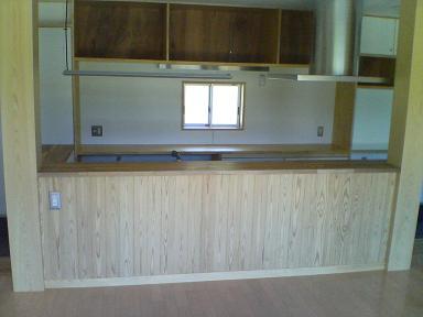 キッチンカウンター1