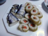 サンマの姿寿司ごぼう寿司?