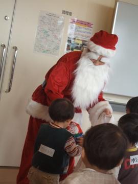 サンタさんだ!