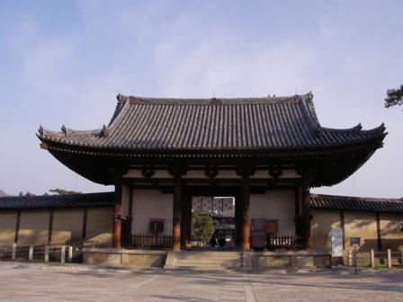 法隆寺南大門