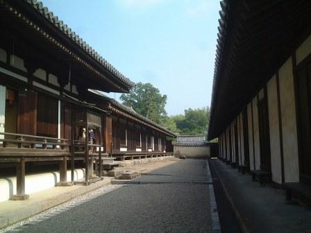 法隆寺東室