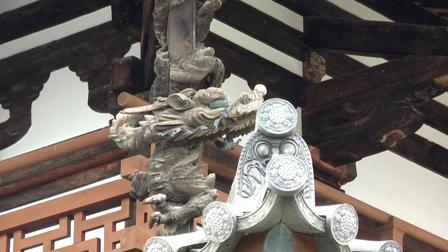 法隆寺金堂の龍