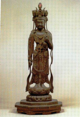 法隆寺九面観音
