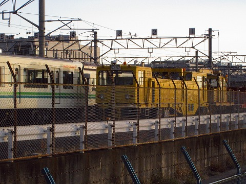 地下鉄車両基地①