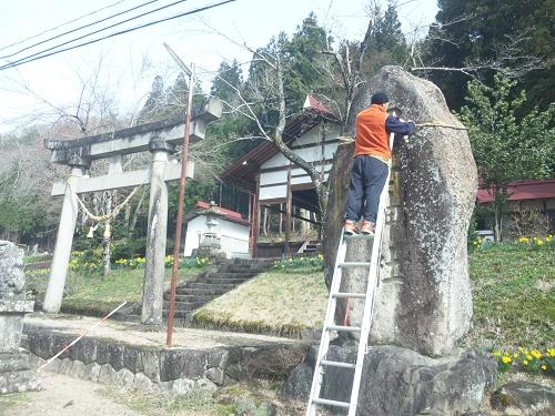 2011.冨士神社例祭準備