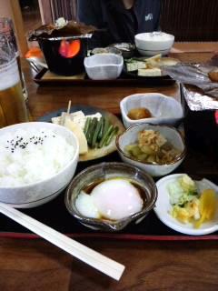 焼き味噌定食