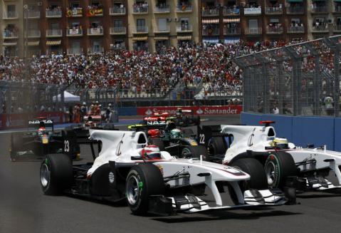 F1 2010 バレンシアGP