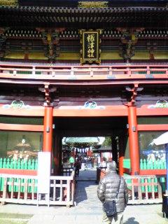 根津神社①