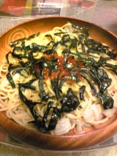 夕飯20100120