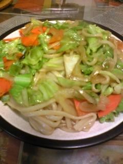 夕飯20100128