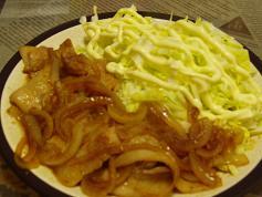 夕飯20100306