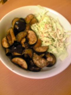 夕食20100810