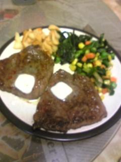夕飯20100815