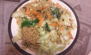 夕飯20110112