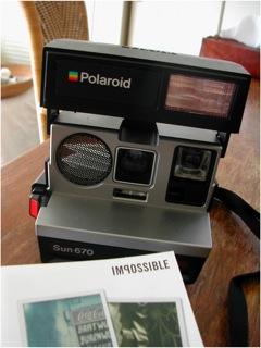 ポラロイドカメラ2