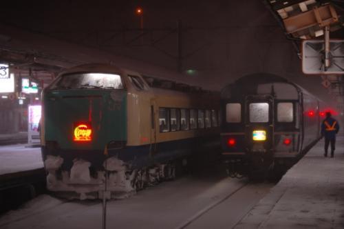 青森駅 「いなほ」「はまなす」