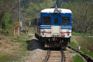 米坂線 キハ52-102 快速べにばな 手ノ子