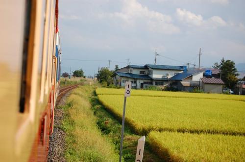 キハ52-127 米坂線