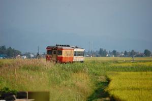 キハ52-127 米坂線 中郡 2008/9/14