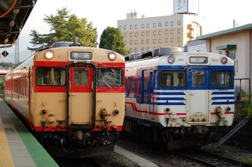 米坂線キハ28・58