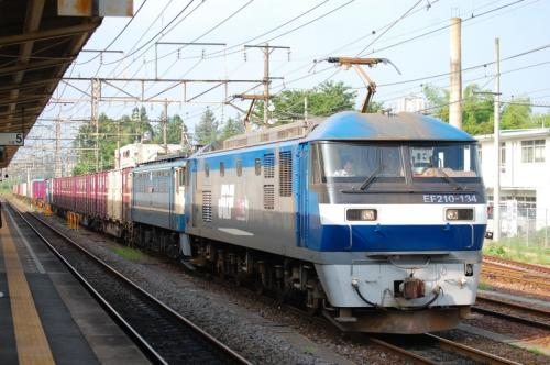 EF210-134 黒磯駅 2009/7/25