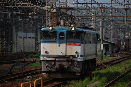 EF65-1065 黒磯駅 2009/7/25