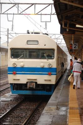 北陸本線 419系 糸魚川駅 2009/8/10