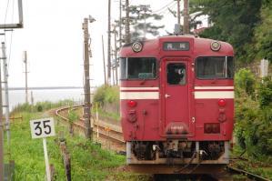 キハ40 雨晴 氷見線 2009/8/11