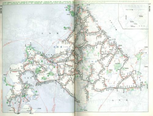 国鉄時代北海道路線図 1981年10月