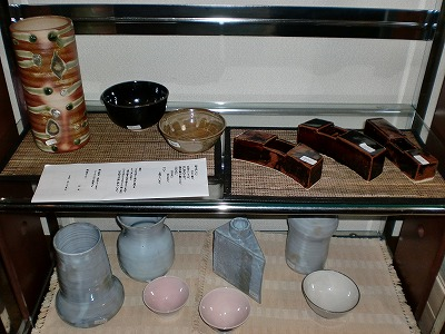 花器、茶碗