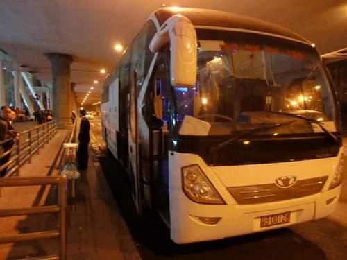 上清寺へのバス
