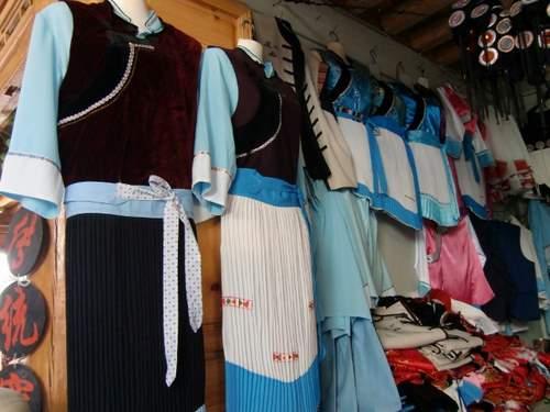 民族衣装の店