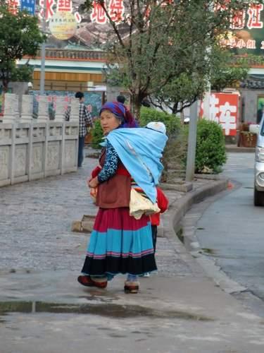 民族衣装おばちゃん