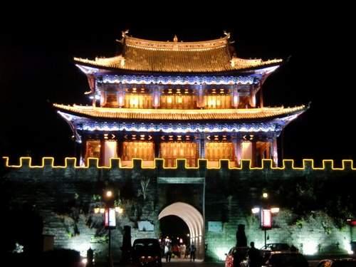 夜景 北門