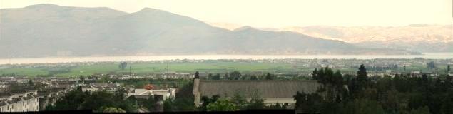 湖 パノラマ