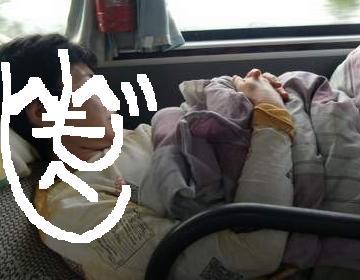 爆睡中  ^^;