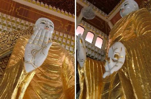 大きな仏像