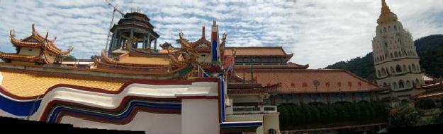 極楽寺 パノラマ